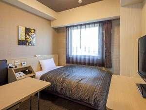 スタンダードシングルルーム◆ベッドサイズ110×196(cm) 加湿機能付き空気清浄機完備