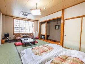 【客室】和室10畳(バス・トイレ付き)