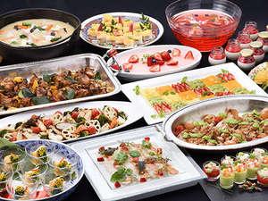【新春ディナー】新しい春を迎えるにふさわしい、カラフルで華やかなお料理が並びます。