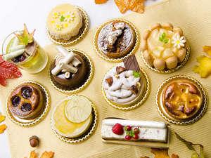 【秋のプチガトー】パティシエ特製プチガトーに秋をイメージした10種類のケーキが登場!9/1~11/30