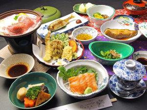 春~秋の夕食は会津の郷土料理をお楽しみください。(スタンダード)