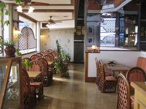 1階レストランです。こちらで朝食をご用意させていただきます。
