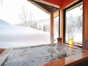 貸切風呂 ばしょうの湯 雪景色を眺めながらゆっくりと…(無料)