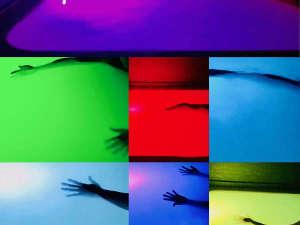 ・アースカラー自慢の7色に光る貸切レインボー風呂♪
