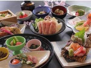 2016年3月~4月「特別和食会席膳」夕食イメージ