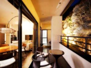 客室専用露天風呂付のスイートルーム はなれ 松島閣の画像