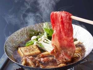 【前沢牛のすき焼き】自慢のお肉は口の中でとろけちゃいます♪※イメージ