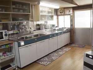 広めのキッチンキッチンアイテムは充実しております