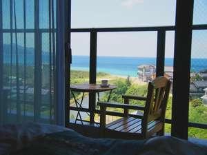 全客室に、海を望むテラスを設置。潮風に包まれて、ゆったり癒しのひとときを