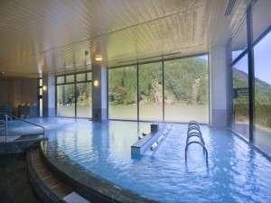 ホテル秘境の湯:泉質もさることながら、広さも自慢の当館大浴場♪
