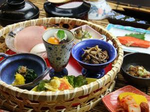 ■朝食一例■お米を引き立てる和朝食をご用意いたしました。※メニューは日替わりで変更となります。