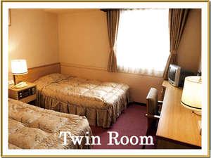 ツインルームベッドサイズ 120cm×195cm 2台