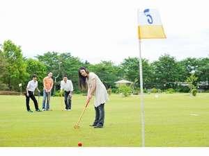 外観 グラウンドゴルフ。。。プレーイメージ