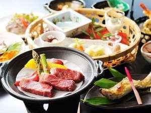 茨城の誇る高級牛肉「常陸牛(ひたち)」会席※イメージ
