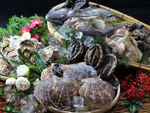 【お食事・海の幸】自分たちが食べておいしいと思えなければ、絶対に出さない!それがやすらぎ流。