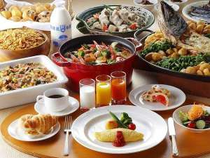 「北海道旅行の思い出に残る朝食」をコンセプトに、北海道料理を中心とした和洋メニューを取り揃えます♪