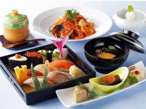寿司8貫和洋ディナーコース