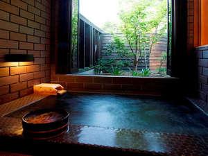 【内湯付き離れ(Bタイプ)】のお風呂/一例