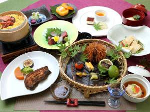 【紫尾庵流創作会席】神無月お献立の一例です!薩摩の郷土料理や地元素材をふんだんに使用してます!