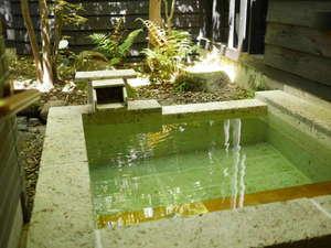 Aタイプ お部屋ごとに温泉がございますので好きな時間に好きなだけお愉しみください。