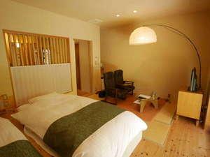 お部屋 タイプB 和を基調にデザインされたお部屋です。