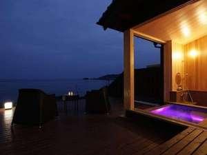 四季折々の日本海を一望できる天然露天風呂の泉質の良さを実感してみて下さい。