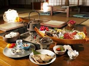 【料理】獲れたての素材だけを使用した素朴なお料理の数々