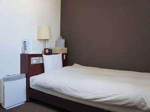 14㎡の広さシングルルーム♪清潔で快適に過ごせます♪