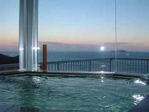 ★展望風呂★ご利用時間16時~23時・朝6時30~9時★夕陽&朝陽を見ながら贅沢な一時を♪