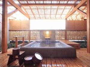 客室露天風呂※一例