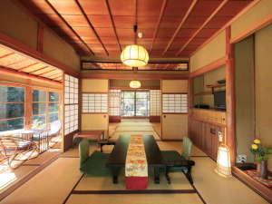 客室「山荘」