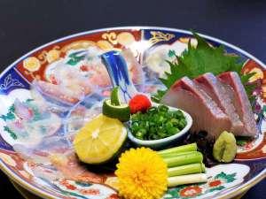 薩長土肥 ~長州/山口・湯田温泉の宴~ 【長州/山口】ふく刺し、旬の鮮魚盛り