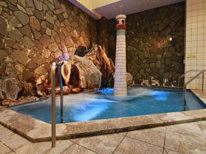 【大浴場・岩盤気泡風呂】気泡につつまれる不思議な感覚が気持ち良い!