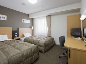 ◆ツインエコノミー◆ベッド幅123センチ◆
