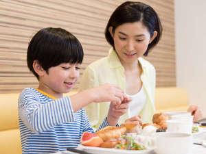 ◆添い寝のお子様も朝食サービスは無料でご利用いただけます◆