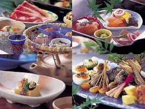 四季の会席料理例②イメージ(プランにより内容は異なります。)
