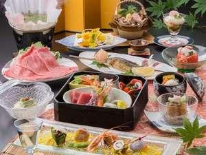旬菜会席 料理例 (プランにより内容は異なります。)
