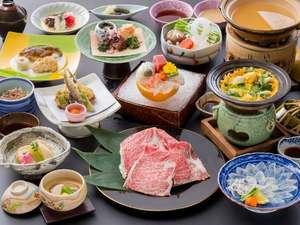 【春の最上級和会席】お食事のイメージ(画像は2013年4月~6月ご提供のもの)