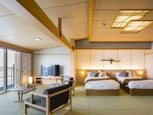 汀館の最上階客室で 「ひとつ上の贅沢を・・」