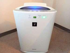 ■全客室に加湿空気清浄機を設置しております。
