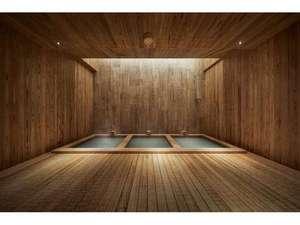〈AWASE〉 旧高砂館、草津伝統の温度が違う合わせ湯を再現。地蔵源泉の素晴らしさを感じられます