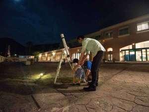 *天体望遠鏡のお貸出しございます。(無料)