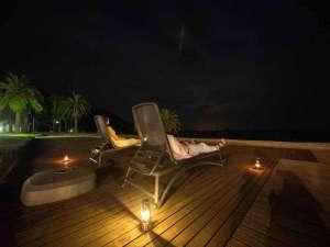 【夜カフェ】食後は夜カフェで星空を眺めませんか?