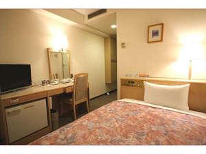【シングルルーム】照度や防音なども考慮した居心地のいい客室