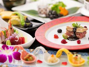 彩り豊かな料理ばかり、五感で楽しむ会席料理♪「一口食べれば…もう虜になってしまいそう」