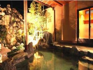 男女大浴場・露天風呂、客室露天風呂、貸切露天風呂、女性専用露天風呂にてトロトロの美肌温泉を満喫♪