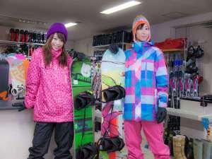 【レンタルスキーショップ】最新モデルがそろっています!12月末~3月末頃まで。