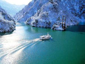 冬も営業!「庄川峡遊覧船」まではお車で約20分