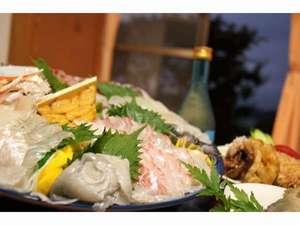 北九十九島でとれた鮮魚の盛り合わせ4名盛りばい