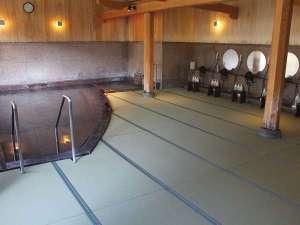 温泉 大浴場が畳敷きになりました♪